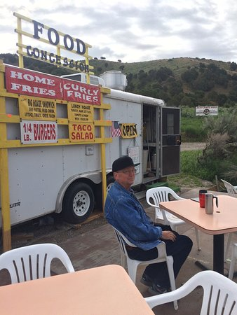 Ririe, ID: Delicious breakfast with good view