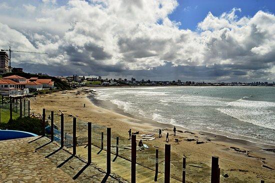 Punta Mogotes playa