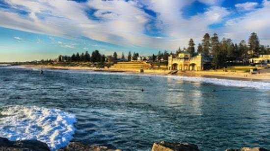 Scarborough, Australia: Cottesloe Beach, Western Australia, during the Sunset Coast Tour