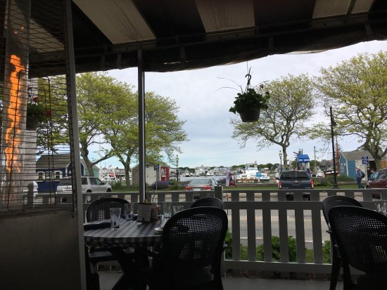 Outside Dining Available With View Of The Harbor Picture Of Black Cat Tave