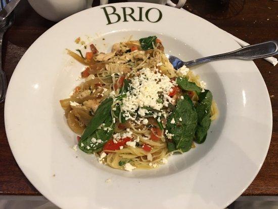Unhappy Vegan Review Of Brio Tuscan Grille Birmingham