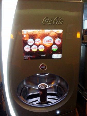 Niles, IL: Coca Cola freestyle options