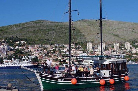 Croisière dans les îles croates...