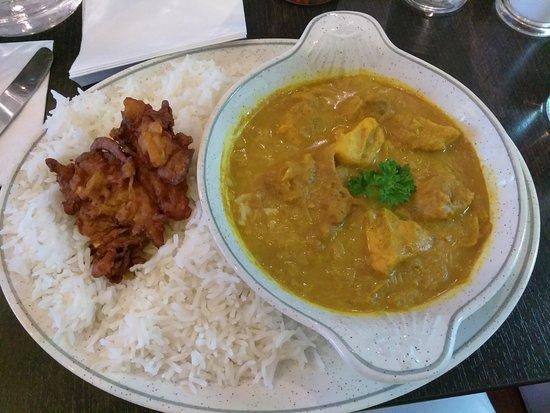 Waterside Cafe Bistro: chicken curry
