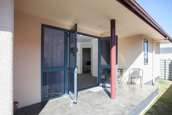 Te Awamutu, Neuseeland: Family Unit Private Patio