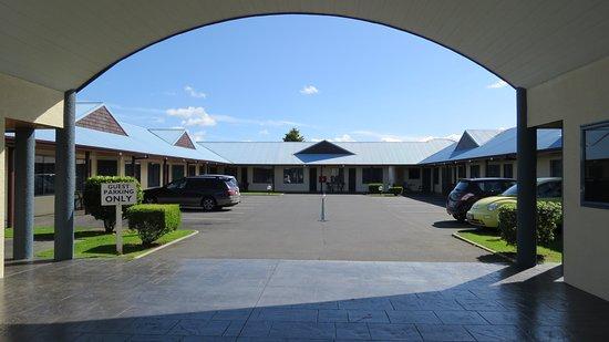 Te Awamutu, Новая Зеландия: Motel Entrance