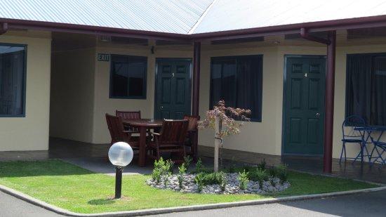 Te Awamutu, Новая Зеландия: Outdoor Area