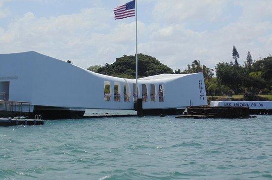オアフ島海岸エクスカーション: パールハーバー (真珠湾) を少人数グループ…