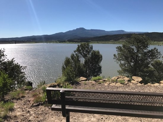 Fisher Peak & Trinidad Lake