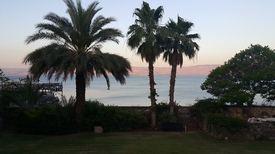 Very close to the Sea of Galilee
