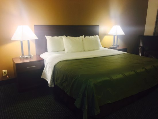 Ozark, MO: Room with king bed