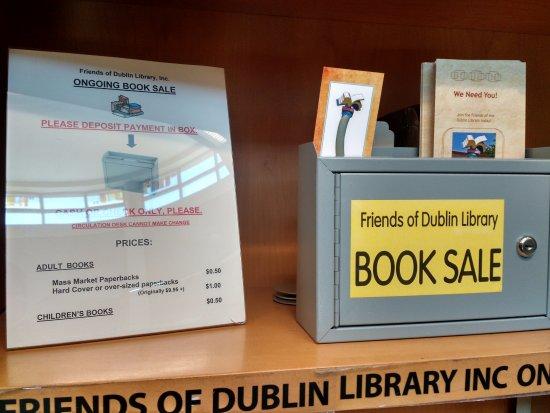 Dublin, CA: Book sale