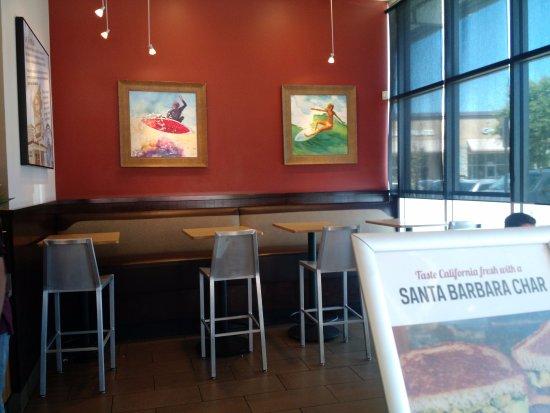 Pleasanton, CA: Dining area
