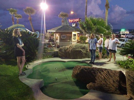 Magic Carpet Golf: Good time by all.