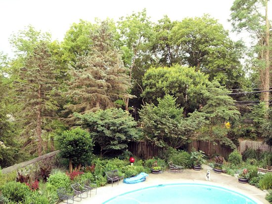 Media, PA: grand master suite - view from deck
