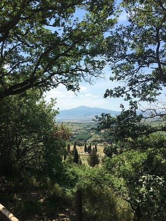 Pienza, Italy: the view!