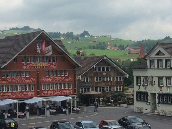 Hotel Appenzell: View from the room