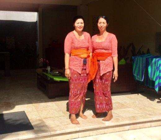 RC Villas & Spa: Friendly breakfast staff