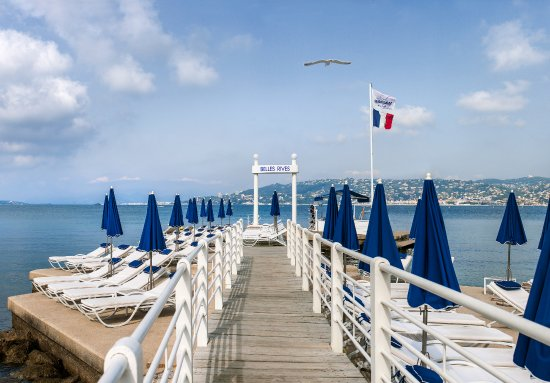 Plage Belles Rives : Jetty