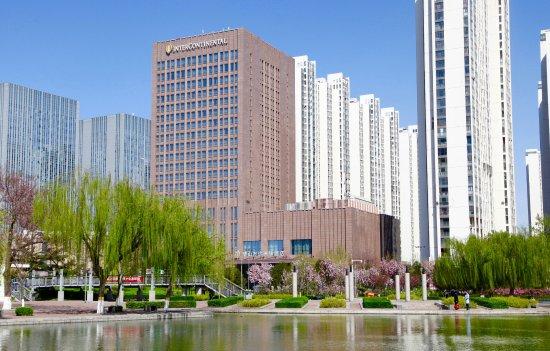 Tangshan, China: 酒店外景