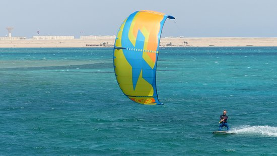 Safaga, Ägypten: Excellent Kitesurf conditions and lots of space