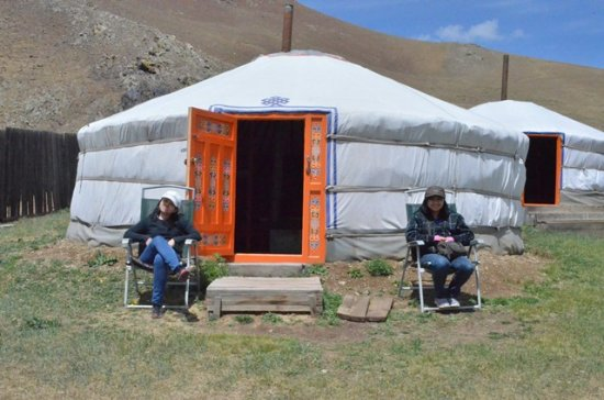 Ganau0027s Guesthouse Experiencing the YURT a traditional Nomadic tent & Experiencing the YURT a traditional Nomadic tent - Picture of ...