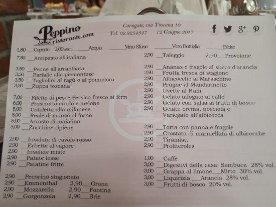 Carugate, Włochy: Ristorante Peppino