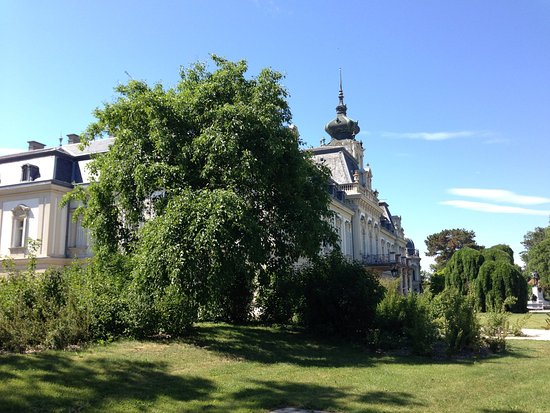 Keszthely, Ungheria: The garden of the palace.