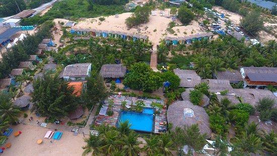 La Gi, Vietnam: Aeriel View of the Beachcamp