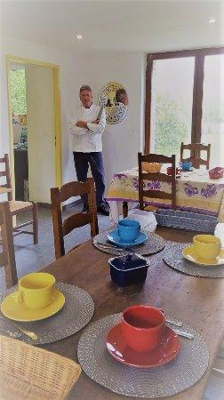 Saumont-La-Poterie, France : Dining Room