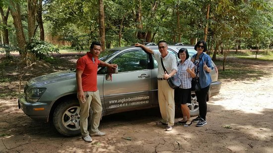 Angkor Best Driver: taxi from phnom to siem reap