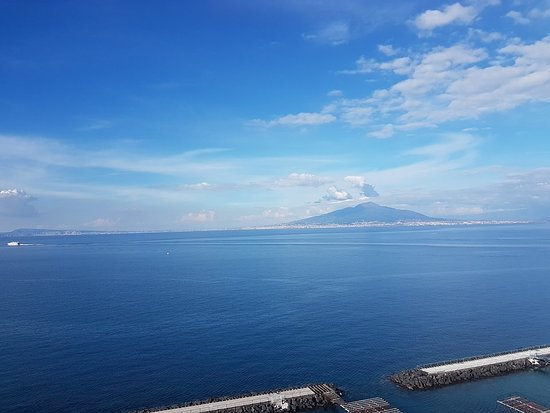 Gulfo of Naples from the hotel