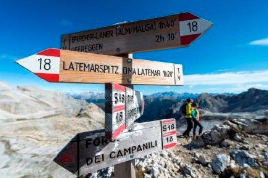 Obereggen, Italy: Wandern
