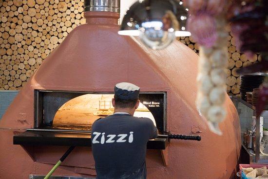 Zizzi - Guildford: Pizza oven