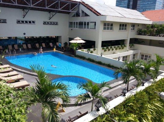 Rex Hotel: Rooftop pool