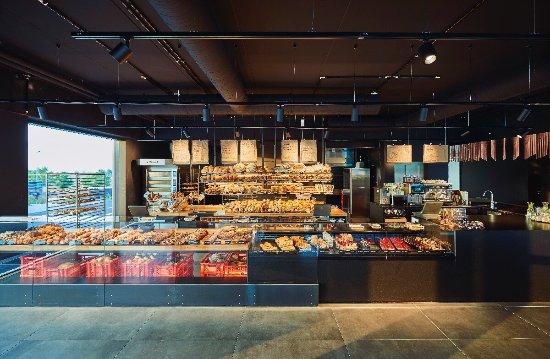 Herrenberg, Allemagne : Bäcker Baier Backhaus mit Laden & Café