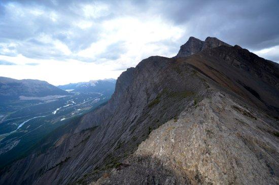 Ha Ling Peak: Taken at 930 pm in July