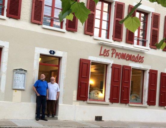 Bourdeilles, Francia: Het mooi gerenoveerd huis waar men zeer lekker kan eten
