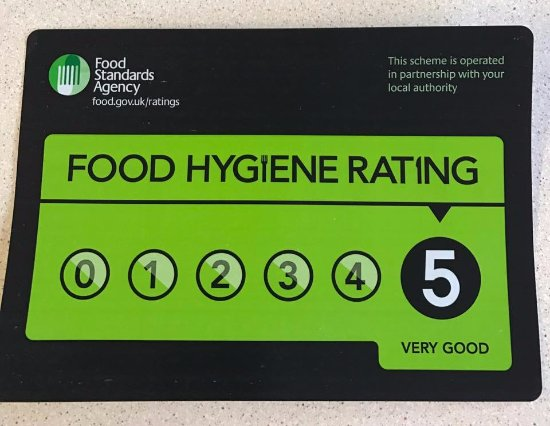 ruby house 5 food hygiene rating
