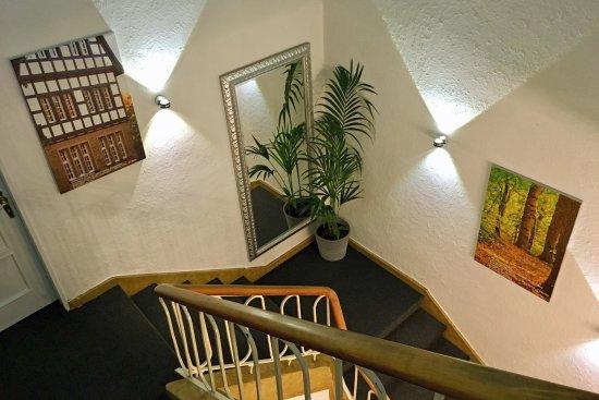 Hoerstel, Alemania: Freundliches Treppenhaus