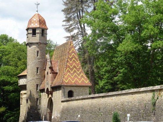 Hôtel Château de Bournel : Détail architectural.