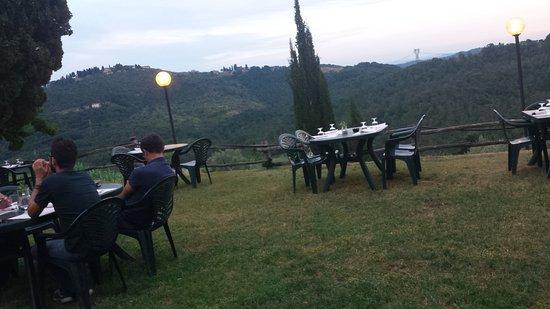 Carmignano, Italy: Ristorante pizzeria Montalgeto