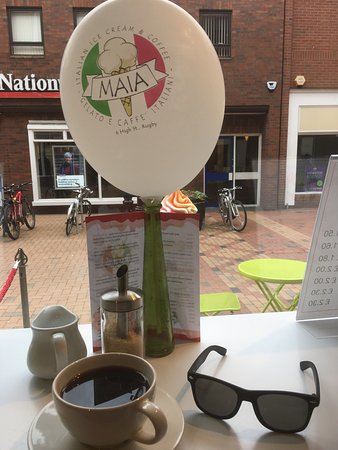 MAIA: Super place to visit, staff always friendly and smiling which is a great thing to see, coffee ex