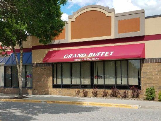 Grand Rapids, MN: Mall Entrance.