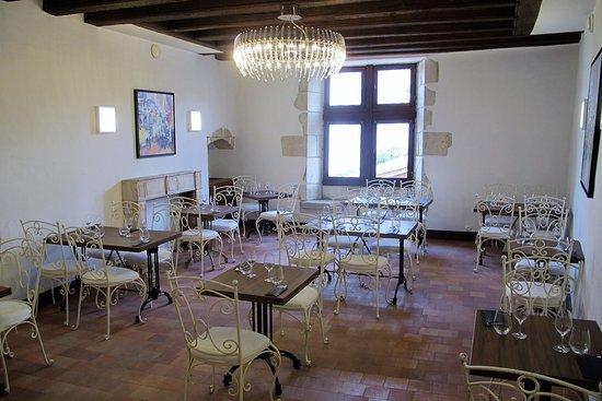 Chauvigny, فرنسا: Salle du 1er étage Les Choucas
