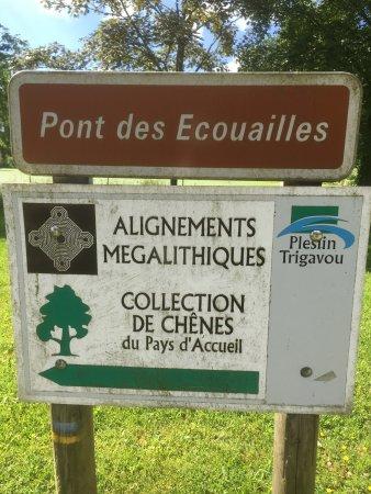 Pleslin-Trigavou, Pháp: Megaliths.