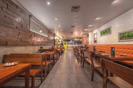 Drummoyne, Avustralya: Inside restaurant
