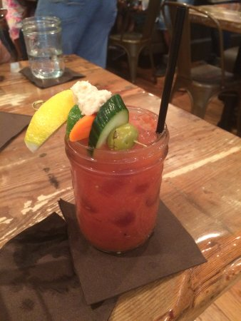 North Easton, MA: Spicy Bloody Mary