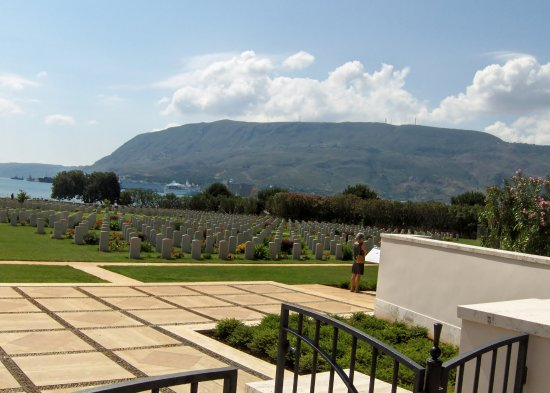 Souda, Grecia: Indgangen til Suda Bay War Cemetery