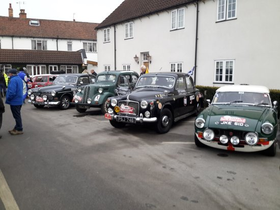 Barnby Moor, UK: All set for the next 1,200 miles in 24 hrs non-stop!